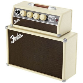 Fender Mini Tone Master 1-Watt Portable Guitar Amplifier, 2x2""