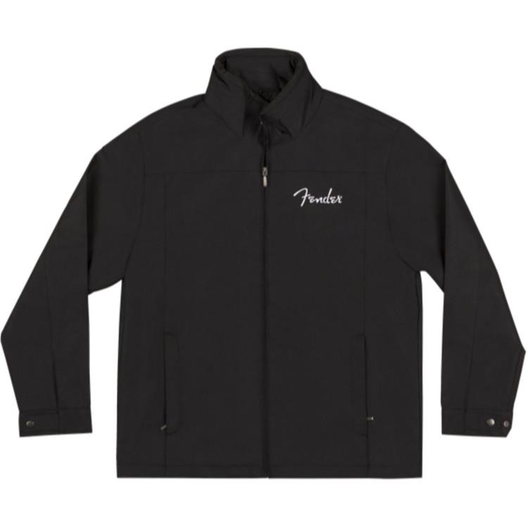 Fender Men's Logo Jacket, Black, X-Large