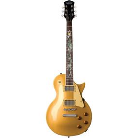 Oscar Schmidt OE20SERPENTG Cutaway Solid-Body Electric Guitar Serpent Inlay Gold