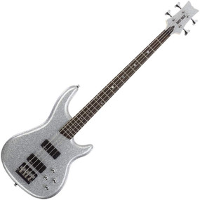 Daisy Rock DR6772 Rock Candy 4-String Electric Bass Guitar, Diamond Sparkle