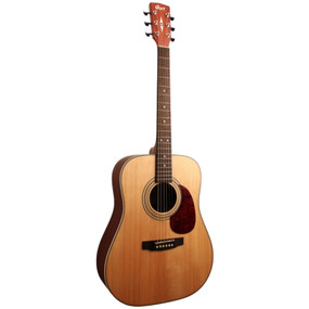 Cort Earth Series EARTH70 Spruce Top Dreadnought Acoustic Guitar, Open Pore