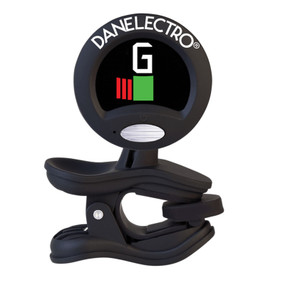 Danelectro DX All Instrument Clip-On Tuner with Metronome, Black