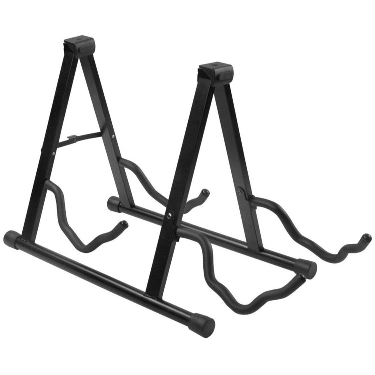 AXL SG-302 Double Guitar Stand, Black