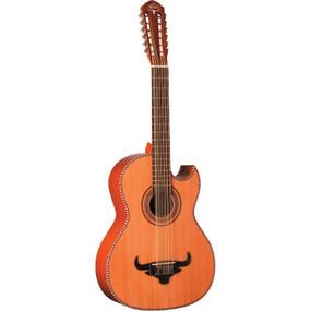 Oscar Schmidt OH50S Latin Collection Bajo Sexto 12-String Acoustic Guitar, Natural