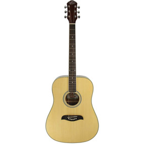Oscar Schmidt ODN Dreadnought Acoustic Guitar, Natural