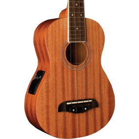 Oscar Schmidt OU2TE Mahogany Acoustic Electric Tenor Ukulele, Natural
