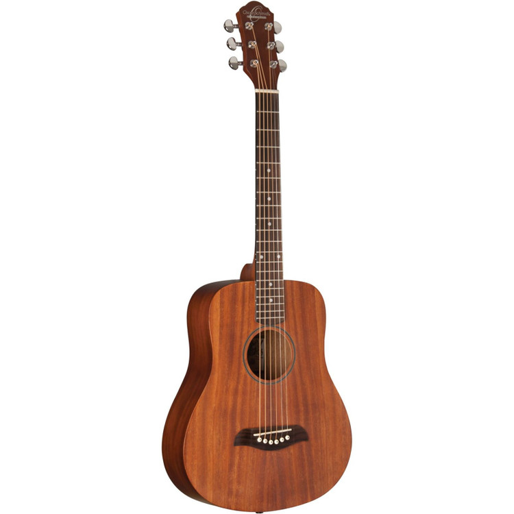 Oscar Schmidt OGM8M Mahogany 1/2 Size Dreadnought Acoustic Guitar, Natural