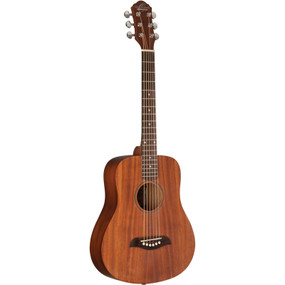 Oscar Schmidt OGM8M Mahogany 1/2 Size Dreadnought Acoustic Guitar, Natural