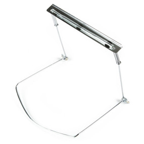 Fender Adjustable Harmonica Holder, Chrome-Plated Stainless Steel