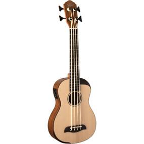 Oscar Schmidt OUB500K Comfort Series Acoustic Electric Bass Ukulele with Gig Bag, Natural (OUB500K)