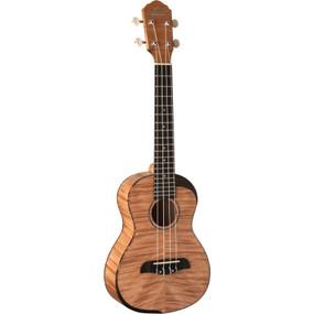 Oscar Schmidt OU800T Comfort Series Acoustic Tenor Ukulele, Flame Maple (OU800T)