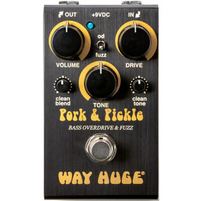 Dunlop Way Huge Smalls WM91 Pork and Pickle Bass Overdrive and Fuzz Effects Pedal (WM91)