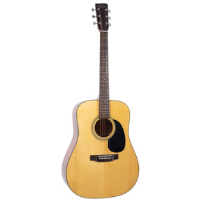 Recording King RD-318 All Solid Dreadnought Acoustic Guitar, Aged Adirondack Top (RD-318)