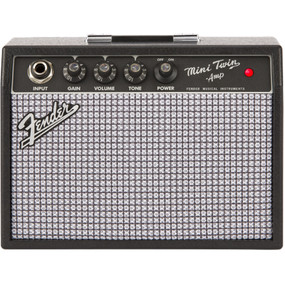 Fender Mini '65 Twin Amp Portable Guitar Amplifier, 0234812000