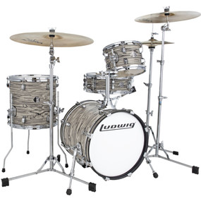 Ludwig LC179XX017 Breakbeats by Questlove 4-Piece Drum Shell Pack, Sahara Swirl (LC179XX017)