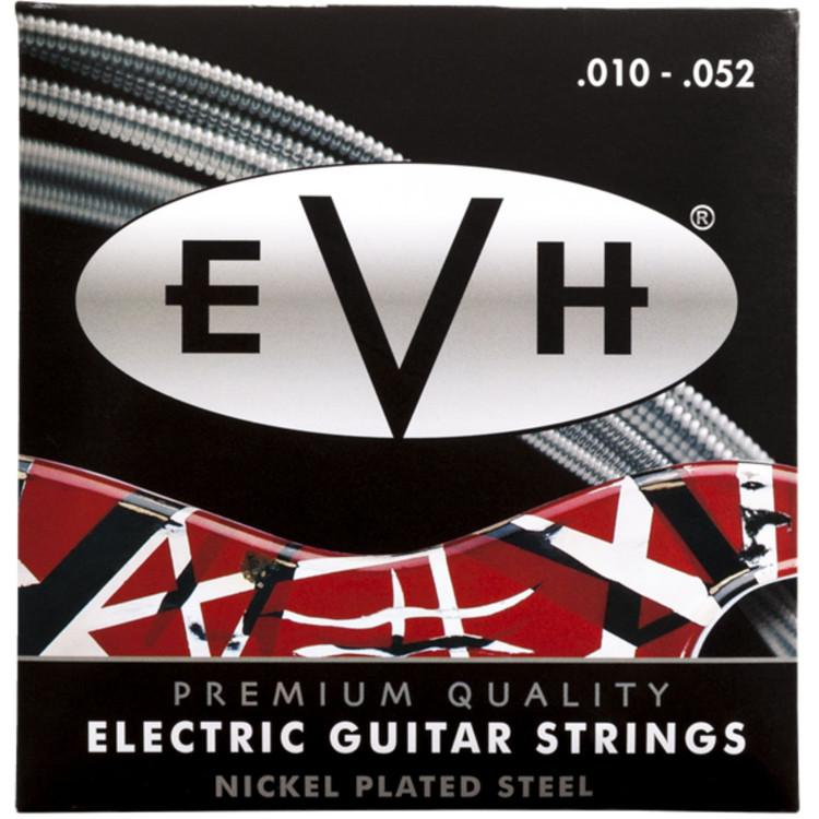 Eddie Van Halen EVH Premium Nickel Plated Steel Electric Guitar Strings, 10-52 (022-0150-052)