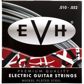 Eddie Van Halen EVH Premium Nickel Plated Steel Electric Guitar Strings, 10-52 (022-0150-052)