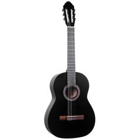 Lucida LG-400-3/4 Student Classical Nylon String Acoustic Guitar, Black (LG-400-3/4BK)