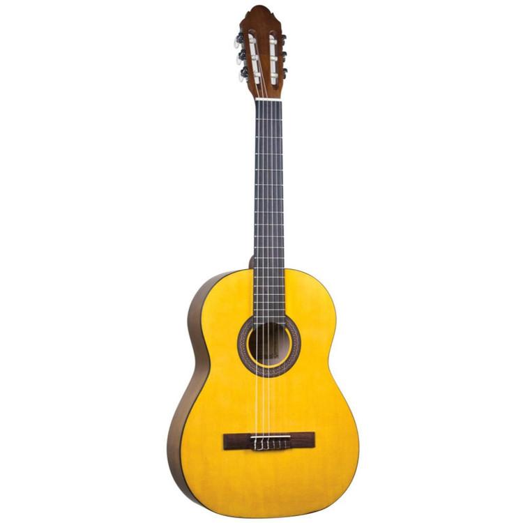 Lucida LG-400-3/4 Student Classical Nylon String Acoustic Guitar, Natural (LG-400-3/4NA)
