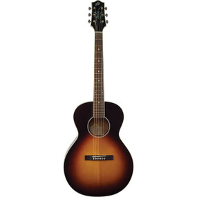 The Loar LH-200-FE3-SN Small Body Acoustic Electric Guitar, Sunburst (LH-200-FE3-SN)