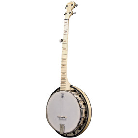 Deering Goodtime Special 5-String Banjo with Resonator, Natural Blonde Maple (GDT-GS)