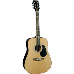 J. Reynolds JR65N Dreadnought Acoustic Guitar, Natural