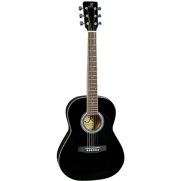 "J Reynolds JR14 Student 36"" Inch Dreadnought Acoustic Guitar, Black (JR14BK)"