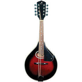 J Reynolds JRMAN20 A-Style Mandolin, Wine Red Sunburst