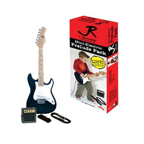 J. Reynolds 1/2 Size Mini-Electric Guitar Prelude Pack (JRPKSTBK)