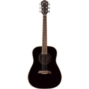 Oscar Schmidt OG1B Student 3/4 Size Acoustic Guitar, Black (OG1B)