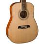 Oscar Schmidt OG1LH Left Handed 3/4 Size Acoustic Guitar, Natural
