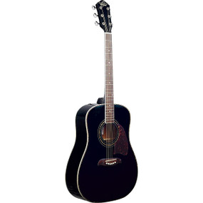 Oscar Schmidt OG2B Dreadnought Acoustic Guitar, Black