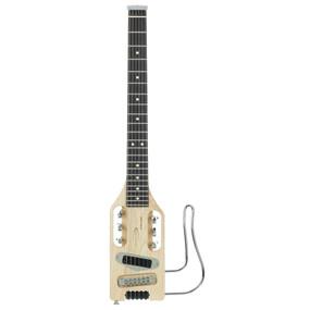 Traveler Guitar Ultra-Light Electric Travel Guitar with Bag, Natural (ULEL NAT)