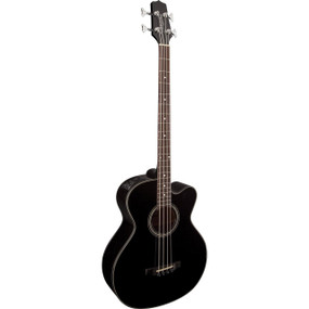 Takamine GB30CE Solid Top 4-String Acoustic Electric Bass Guitar, Black