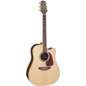Takamine GD71CE-NAT Dreadnought Solid Top Acoustic Electric Guitar, Natural