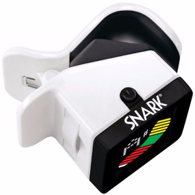 Snark S-3 Son of Snark Mini Clip-On Chromatic Guitar and Bass Tuner, Cop Car Edition (SOS-S3)