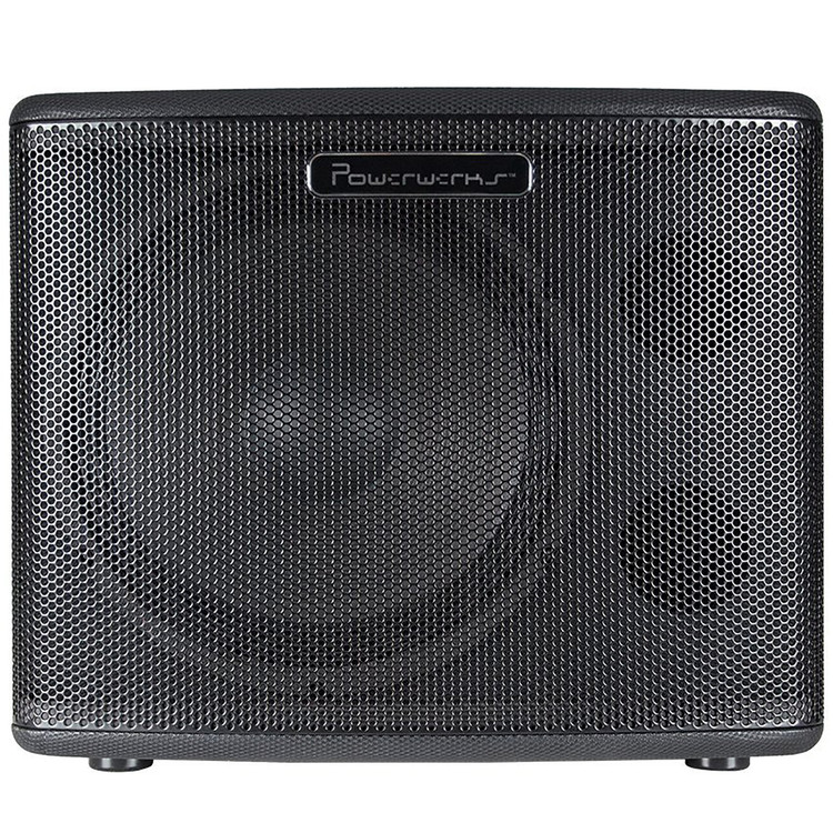 "Powerwerks PW112SUB 400-Watt Peak Powered Subwoofer with 12"" Speaker"