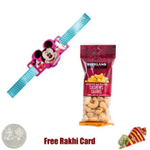 Kids Rakhi with 50 grams Cashews