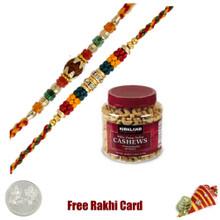 2 Rakhis Kirkland Cashew Nut Jar