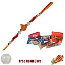 Ethnic Raki with Assorted Chocolates - Small
