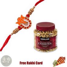 Rakhi with Kirkland Signature Fancy Indian Cashews-40 oz