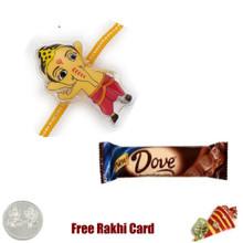 Dove Chocolate Bar  Rakhi Special