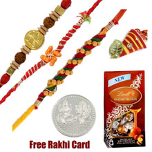 Lindt Lindor truffles With 3 Rakhis