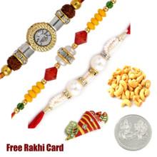 3 rakhis with 50 grams DF