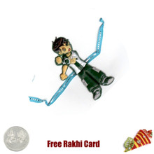 Benton Rakhi with a Free Silver Coin