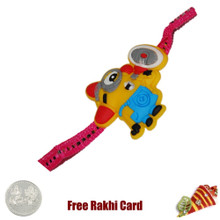 Minion Rakhi with a Free Silver Coin