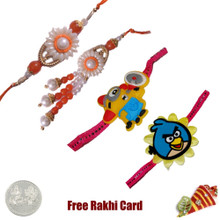 Pearl Moti Family Set with a Free Silver Coin