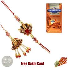 Ghirardelli Milk Chocolate Rakhi Special