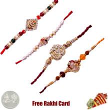 Set of 4 Religious Rakhi
