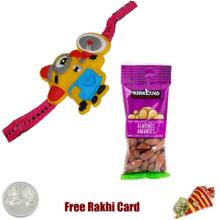 Kids Rakhi with 50 grams Almonds - Canada